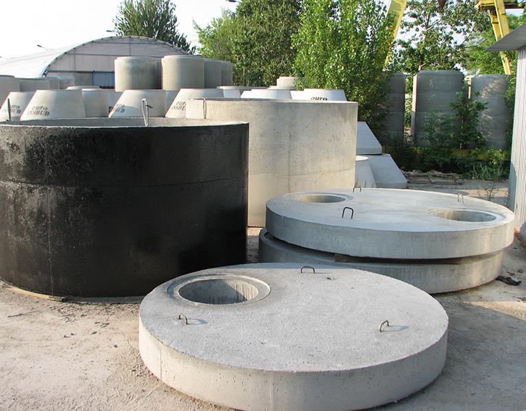 zbiorniki zkręgów betonowych